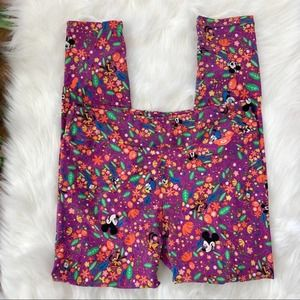 Lularoe | Tall & Curvy Disney Mickey Mouse Legging